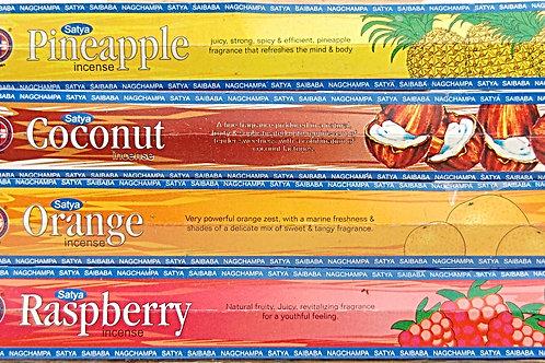 satya fruit blend series