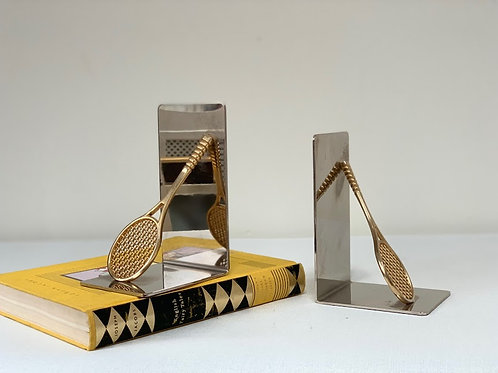 1990s Bookends - Brass