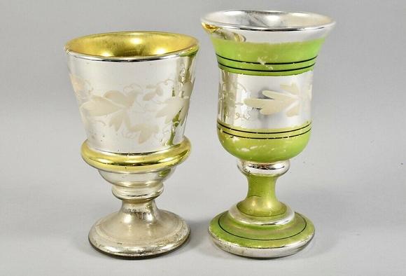 Farmer's silver mug 19th century