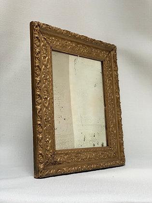 Stucco Wood Mirror