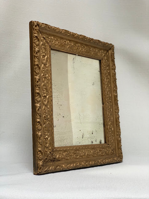 Stucco Wood Mirror