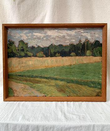 Framed Oil, Unknown Artist