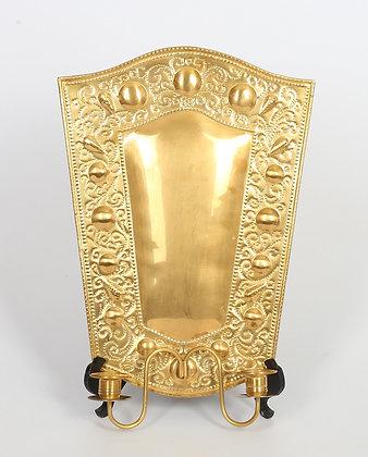 20th Century Swedish Brass Sconce