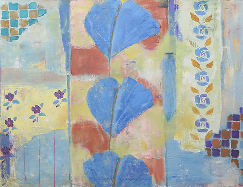 Pompeian Style Wall by Ingrid Nordstrom