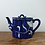 Thumbnail: Hand-painted blue & white teapot