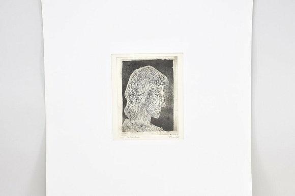 Etching by Gustav Grund