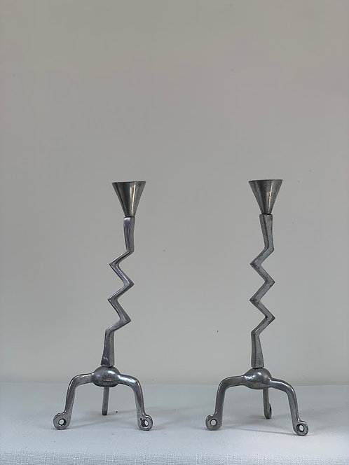 Pair of Zig Zag Candlesticks