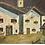 Thumbnail: Painting, mountain village, sign. F. Shepherd