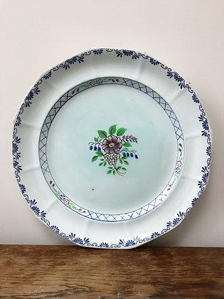 Antique Adams Calyx Ware Handpainted Platter