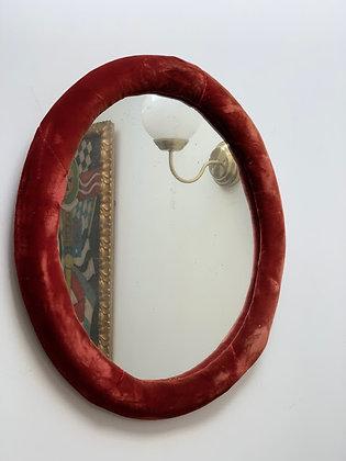 20th Century Velvet Mirror