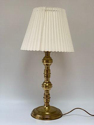 Large Vintage Brass Lamp