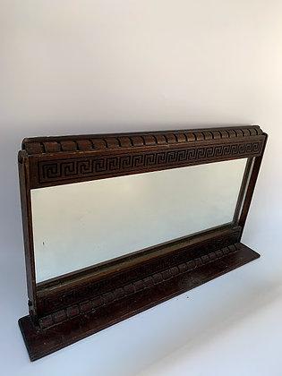 Antique Victorian Mirror, With Greek Key
