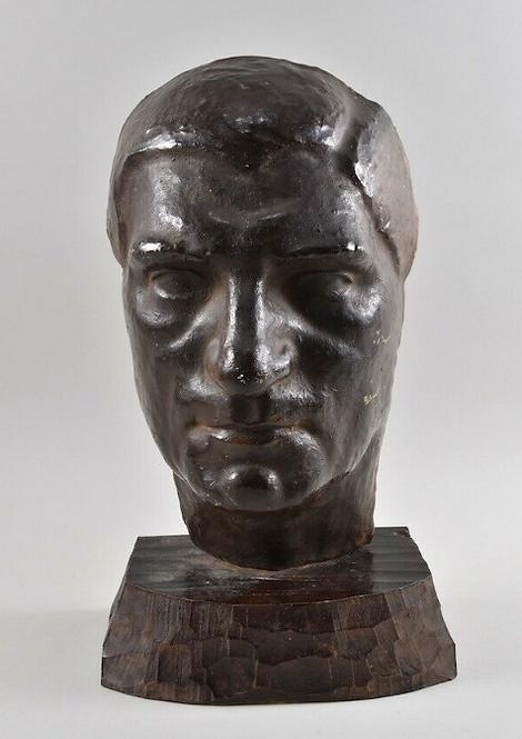 Terracotta Head, A. Tresberspurg 1951