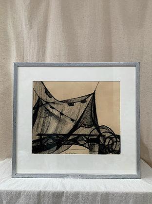 Framed Drawing by Arwid Karlson