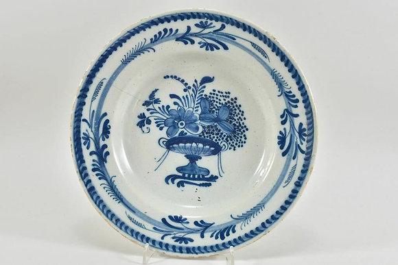 18th Century Faience Plate