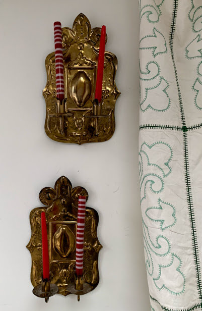 Pair of late 19th Century Swedish Sconces