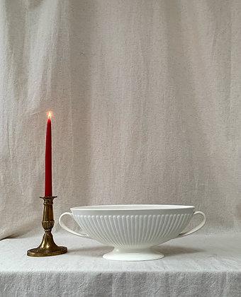 Vintage c1940s Wedgwood Etruria & Barlaston Ribbed Vase