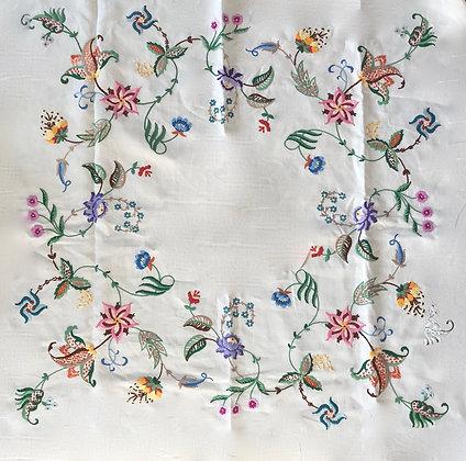 Jacobean Style Tablecloth