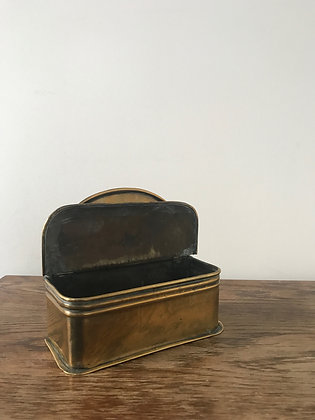 Brass Candle Box