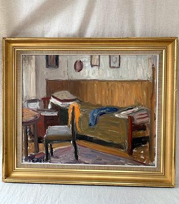Framed Oil On Canvas, by Gustaf Sjöö