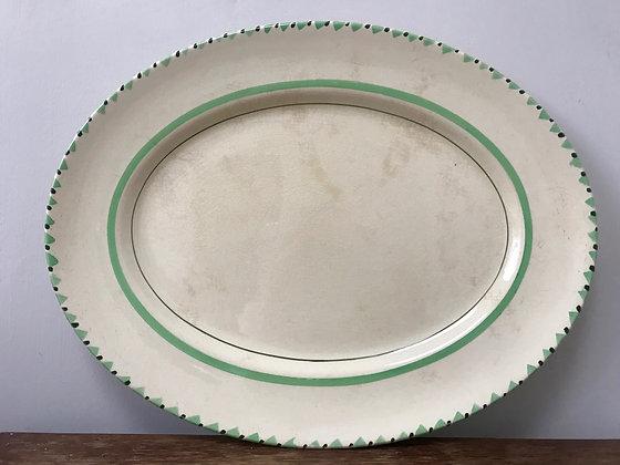 Art Deco Myott and Sons Oval Meat Platter.