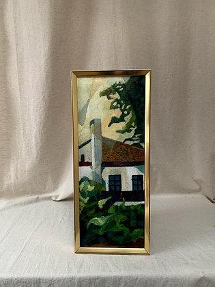 Framed 20th Century Oil Painting