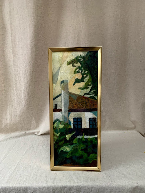 Framed 20th Century Oil Painting