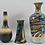 Thumbnail: Set of Three Ceramic Vases, Asian, 1970s