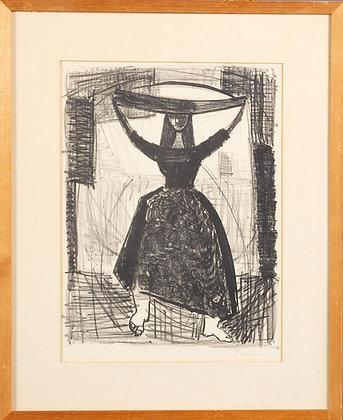 'Fishmonger' Print by Lennart Rosensohn