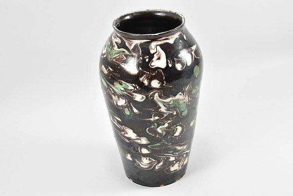 Art Nouveau Ceramic Vase, German