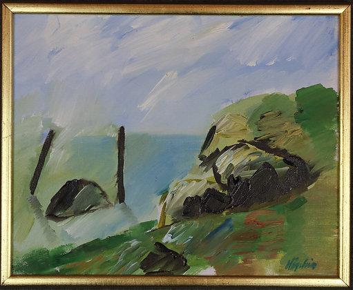 Oil Painting, Landscape, by Kjell Högström