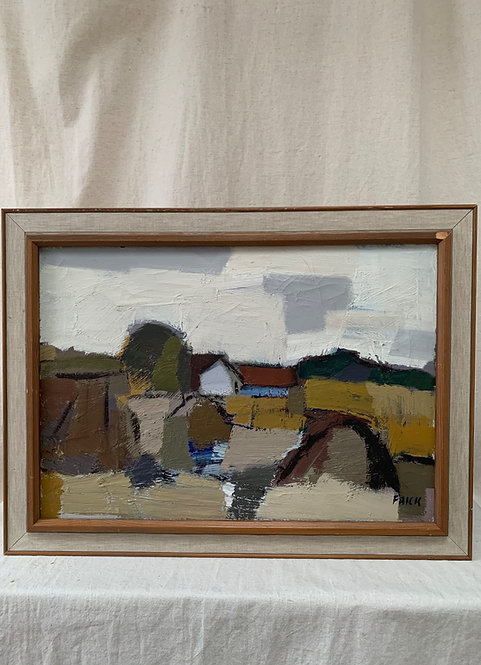 'Old Farm' by Gösta Falck