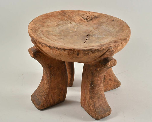 Small Carved African Stool