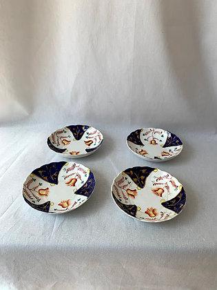 Set of Four Imari Saucers