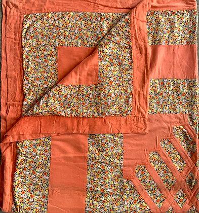 Buy similar Vintage pretty cotton quilt Ditsy floral print - 1940's