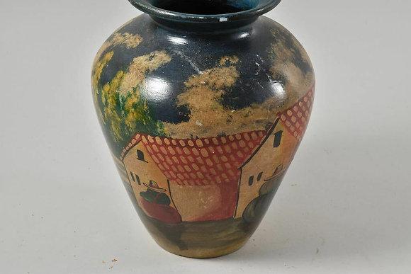 Hand Painted Jar