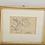 Thumbnail: Landscape Munich School, 19th century Pencil drawing