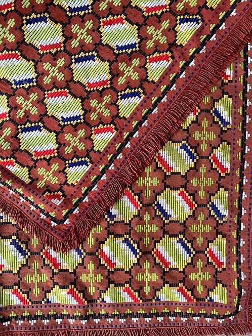 20th Century Woven Blanket