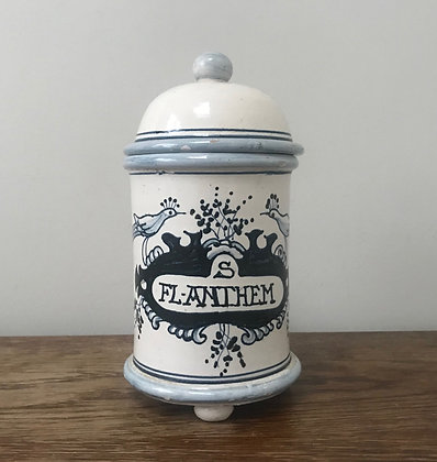 Hand Painted Apothecary Jar