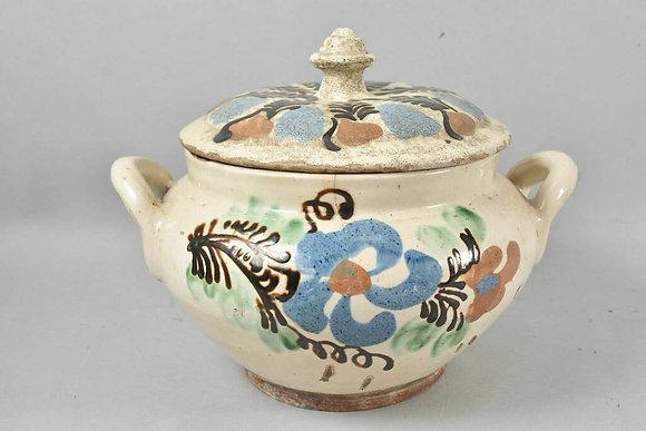Beautiful 19th Century Ceramic Terrine, European