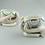 Thumbnail: Antique Continental Porcelain. Rare pair of Hand Salts