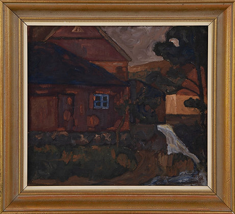Early 20th Century Oil Framed Oil Painting