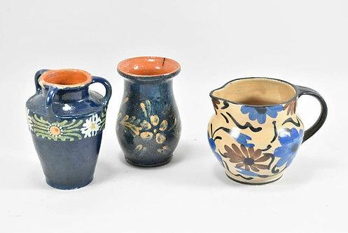 Set of Three Early 20th Century German Ceramics