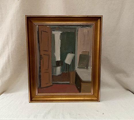 Framed Oil,Bengt Ågren (1923–2007)