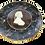 Thumbnail: 19th Century Thomas Fradley Mochaware Plate
