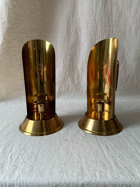 Vintage Brass Sconces