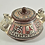 Thumbnail: Ceramic Lidded Pot Mexican, Vintage