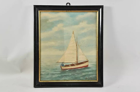 Vintage Oil Painting, Signed