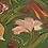 Thumbnail: Folk Art Painted Bentwood Box