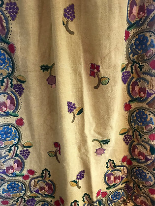 Antique Embroidered Curtain